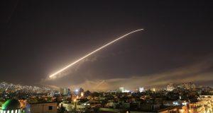 هجوم صاروخي ضد سوريا
