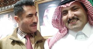 الدكتور محمد لعقاب رفقة محمد ال جابر سفير السعودية لدى اليمن
