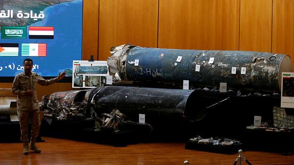 صواريخ سقطت على السعودية